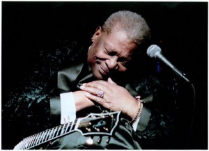 B.B. King will perform his brand of iconic American blues at Odell Williamson Auditorium this month. Courtesy photo