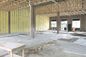 The brewery is under construction, but Goldman anticipates opening in early fall of this year.