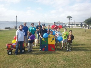 Put Together the Pieces, the Autism/Asperger's Support Group of Southeast NC, routinely holds fundraisers and events such as the Autism Awareness Walk held in October 2013 (pictured) and again in April 2014. This month the group will hold a community awareness event on June 14th. Courtesy photo