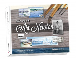 'Southport's Art Newton' is a biography and collection of art about our area's first professional artist, Art Newton. The book, released in the fall of 2013, was penned by local Thomas J. Harrelson, who once studied under Newton. Image courtesy of David Norris with SlapDash Publishing.