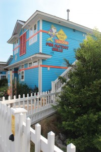 Dead End Saloon, located at 4907 Fish Factory Rd. in South Harbour Village, specializes in Maryland-style crab cakes and panoramic waterway views. Photo by Bethany Turner