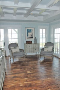 Master bedroom sitting area. Photo by Bethany Turner