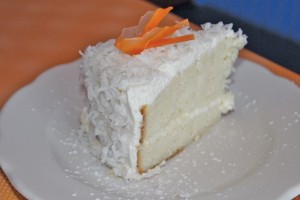 Coconut cake. Photo by Bethany Turner