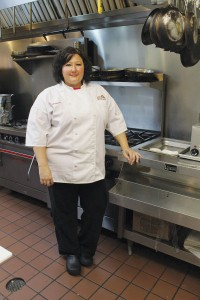 Tracie Bartlow, executive chef of Bella Cucina in Southport, maintains a clean kitchen and prepares the freshest ingredients for each dish. Photo by Bethany Turner