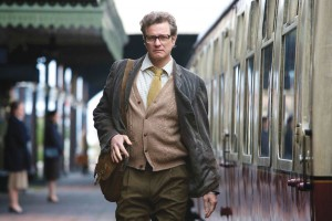 Colin Firth plays Eric Lomax—a real-life British army officer and Japanese prisoner of war during World War II—in 'The Railway Man.' Courtesy photo