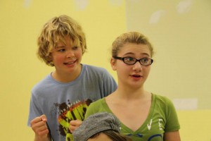 RJ Thomas and Ryleigh Ingram will play siblings Ralph and Imogene Herdman in the classic children's Christmas tale, 'The Best Christmas Pageant Ever.' Courtesy photo