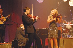 The Annie Moses Band blends folk and classical music, and will bring its distinguishing sound to Odell Williamson Auditorium for a Christmas performance on December 4th. Courtesy photo