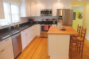 The kitchen was completely renovated in 2011.