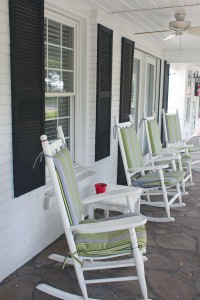 The front porch is an expansive 337 square feet. Photo by Bethany Turner