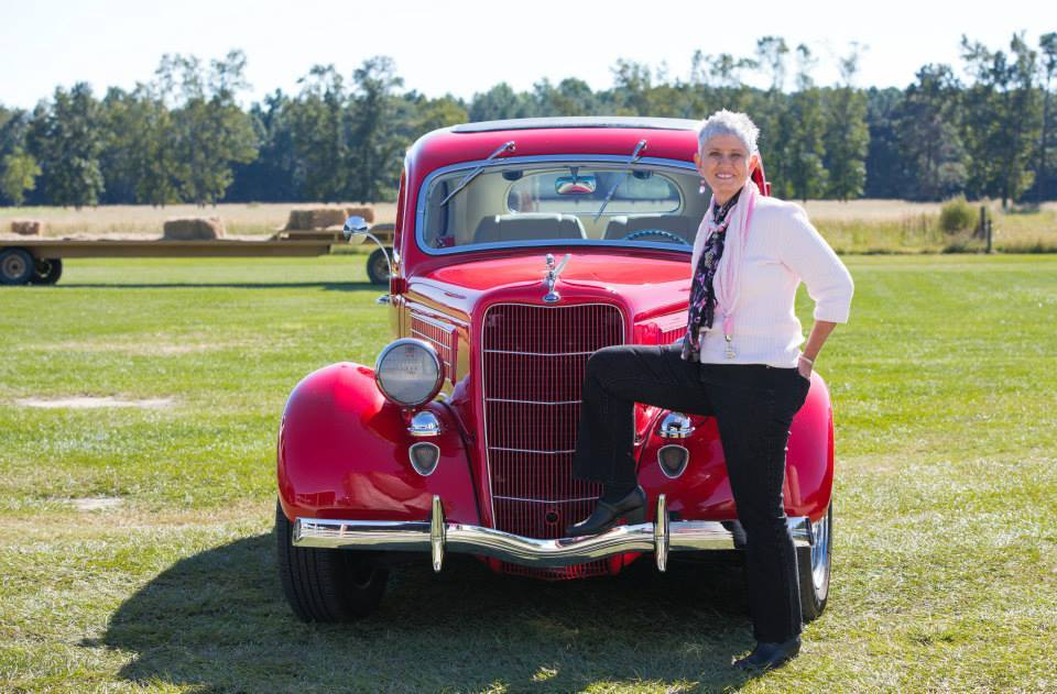 Congrats to Sarah Whitmer for winning the People's Choice Awards with her 1935 Ford Flat Back at the Classic Cars 'n Rock 'n Roll event. — with Sarah Whitmer.