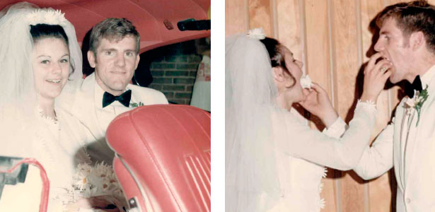 A LOVE STORY: Bill and Debe McCartney